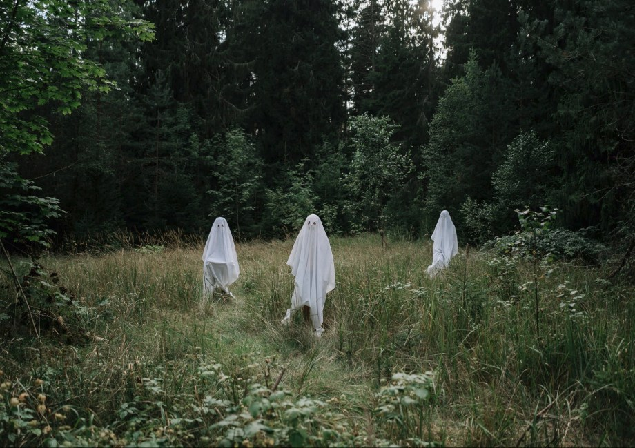 ghosts outdoors