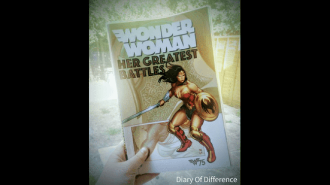 wonder woman her greatest battles comic book graphic novel books book review diary of difference