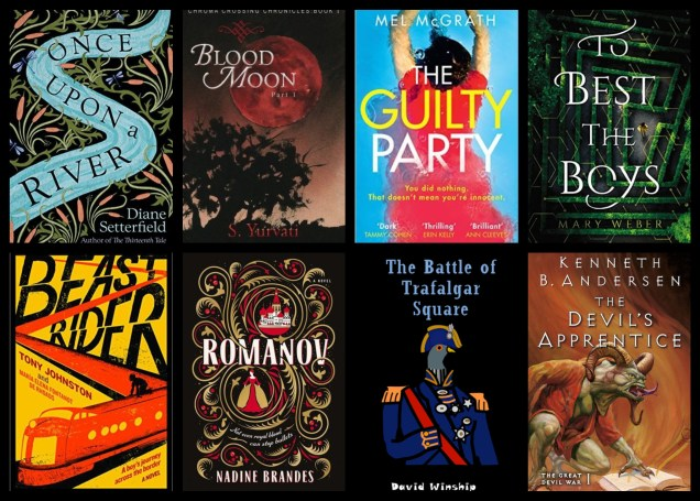 monthly wrap up march once upon a river the guilty party to best the boys romanov blog blogging book books goodreads netgalley