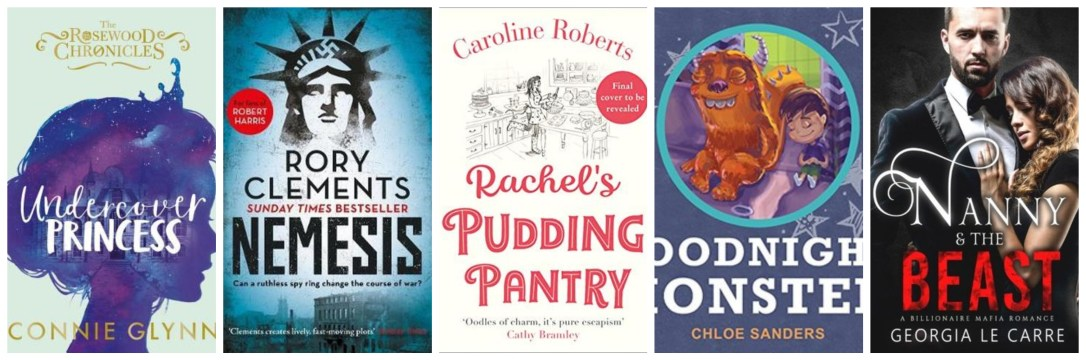monthly wrap up april nemesis undercover princess rachel's pudding pantry nanny and the beats blog blogging book books goodreads netgalley