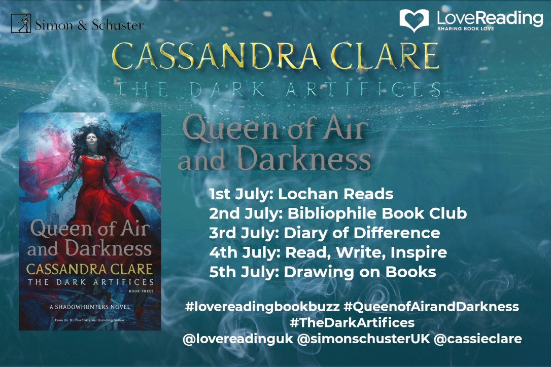 cassandra clare queen of air and darkness the dark artifices shadowhunter love reading book books review diaryofdifference diary of difference lord of shadows queen of air and darkness