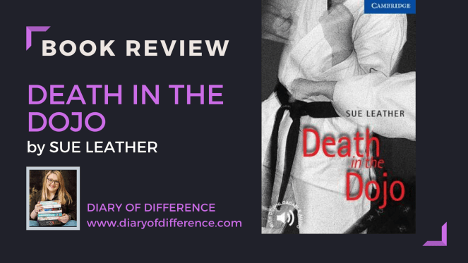 death in the dojo sue leather book review books goodreads mystery karate diary of difference diaryofdifference