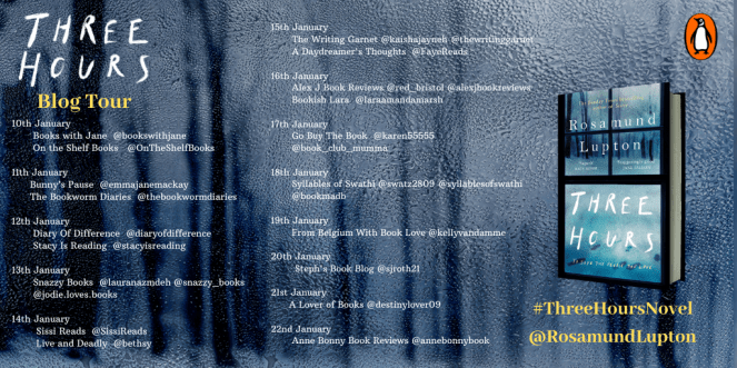 three hours rosamund lupton blog tour book review books goodreads blogging penguin house blogger diary of difference diaryofdifference