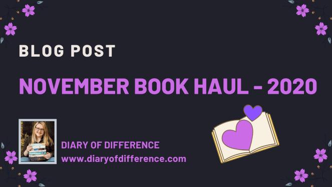 November Book Haul - 2020
