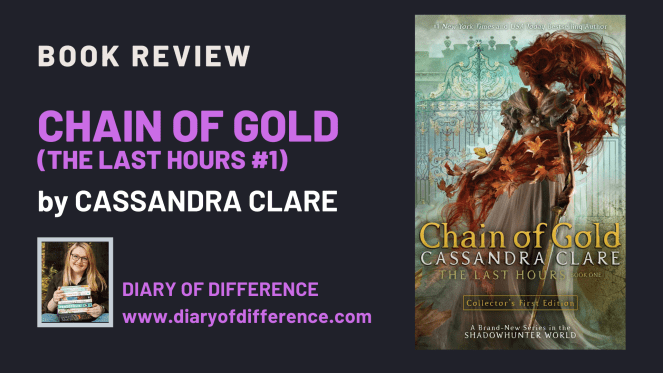 Chain of Gold by Cassandra Clare [BOOK REVIEW]