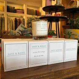A Stylish Afternoon Tea Sass and Boho candle set