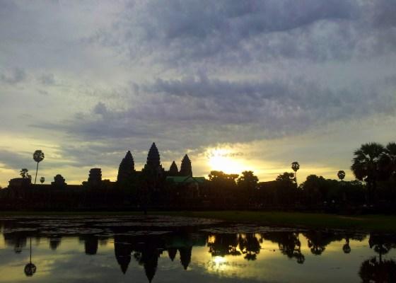 Cambodia diaries: Sunrise at Angkor Wat