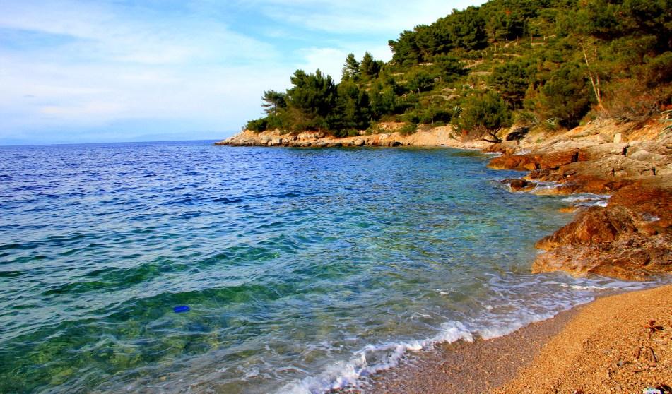 Grandova beach Vis Croatia