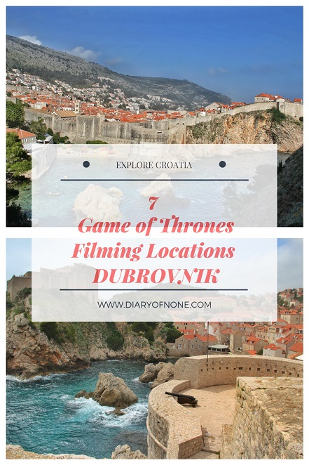 Game of Thrones Filming Locations Dubrovnik Croatia