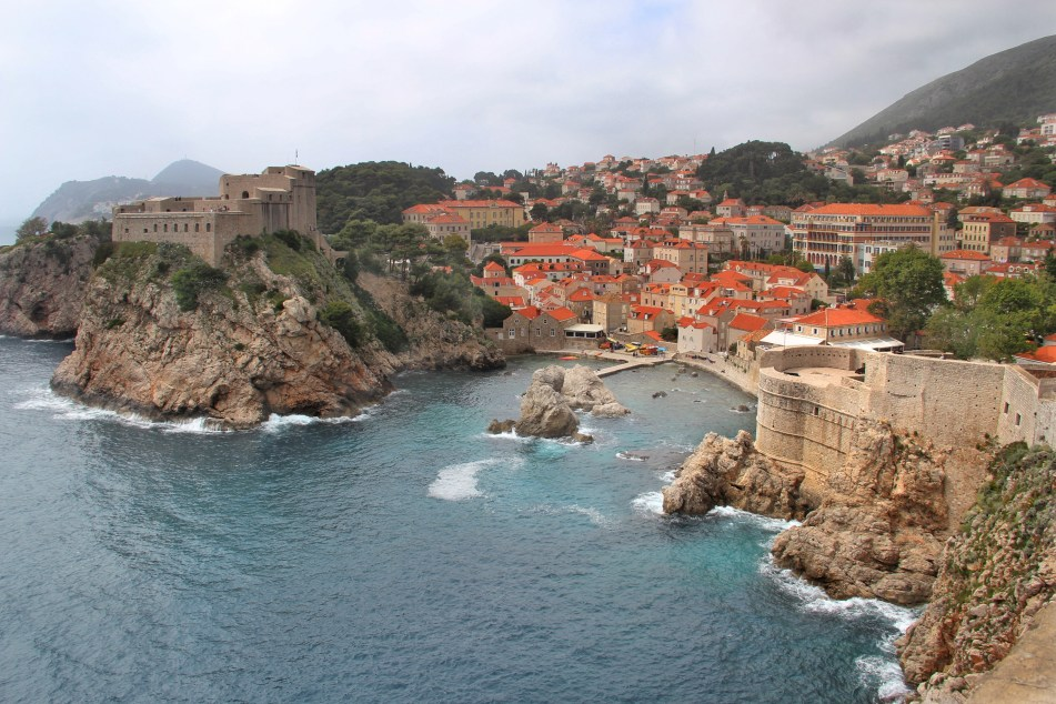 View from Dubrovnik's city walls
