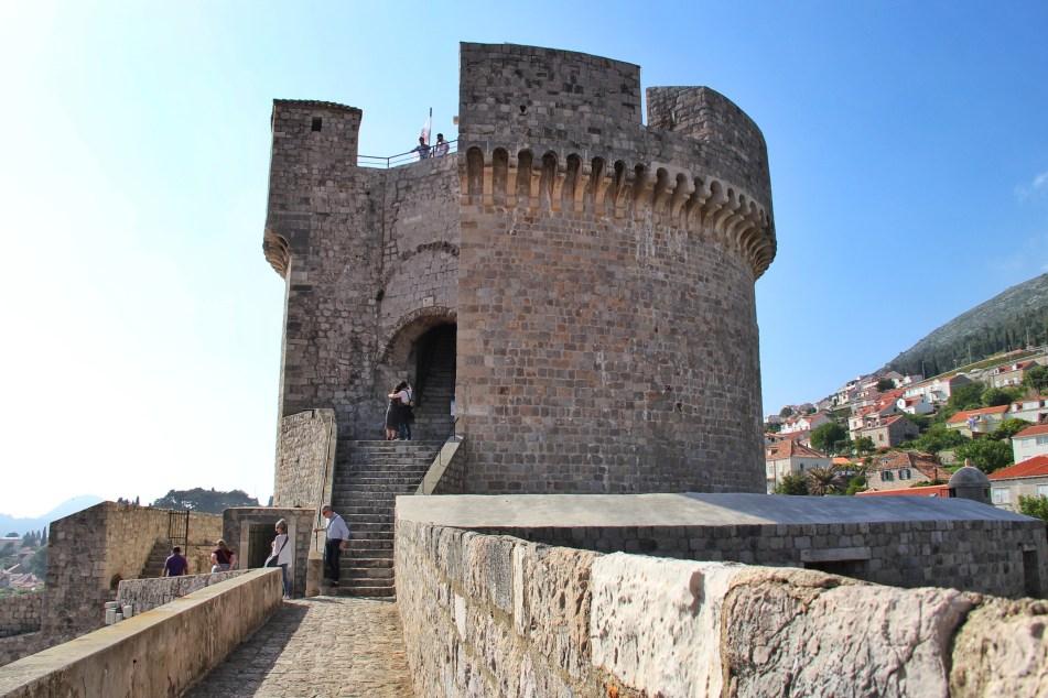 Minceta Tower Dubrovnik Croatia