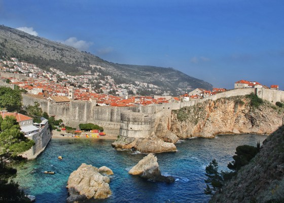 I am in Dubrovnik