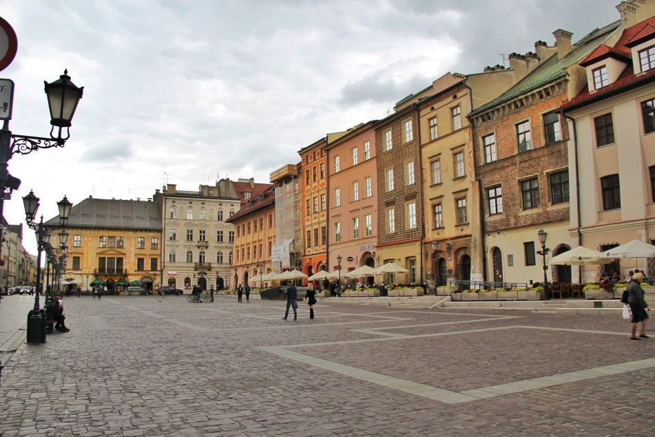 Krakow old town walks