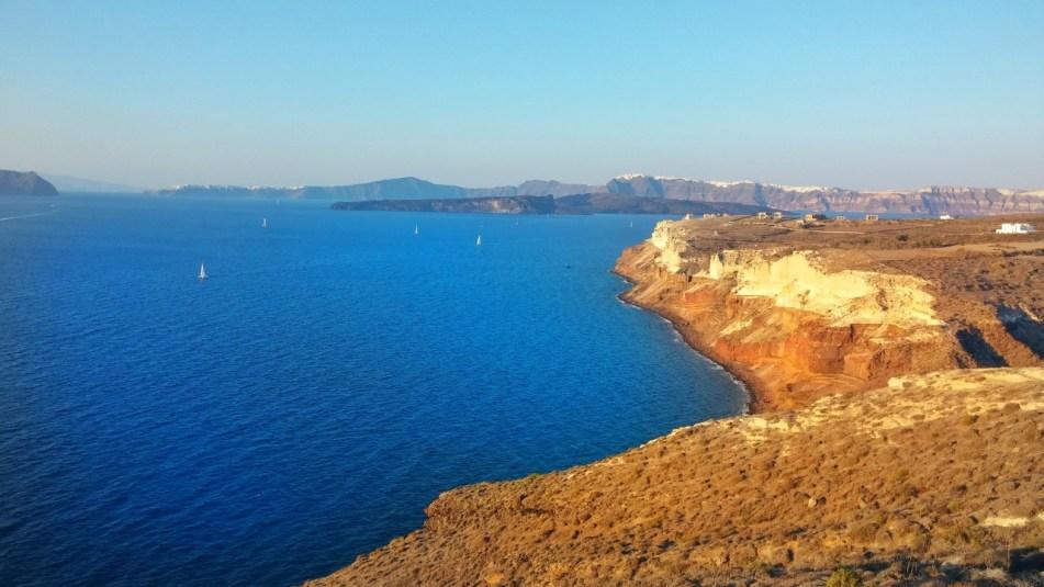 Akrotiri lighthouse Santorini
