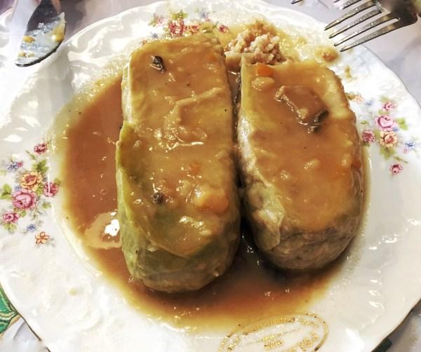 Golabki food Krakow Poland