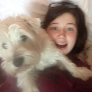 Me and the best dog in the world :)