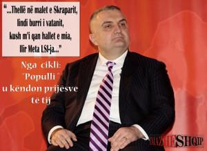 Ilir Meta LSI-ja