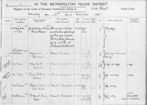 Dokumenti i gjykatës nga 21 dhjetori 1931