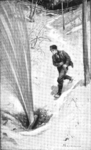 Ilustrim i një çarjeje tubi nga libri i Ida Tarbell i vitit 1904, Historia e Kompanisë Standard Oil.