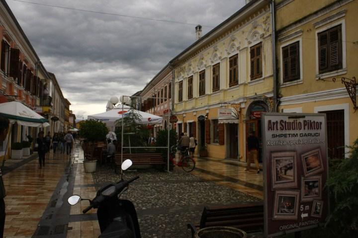 Pedonalja, Shkoder, vjeshte 2015