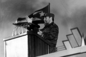 Cuban President Fidel Castro on Jan. 4, 1988, in Havana. (Rafael Perez/Agence France-Presse via Getty Images)