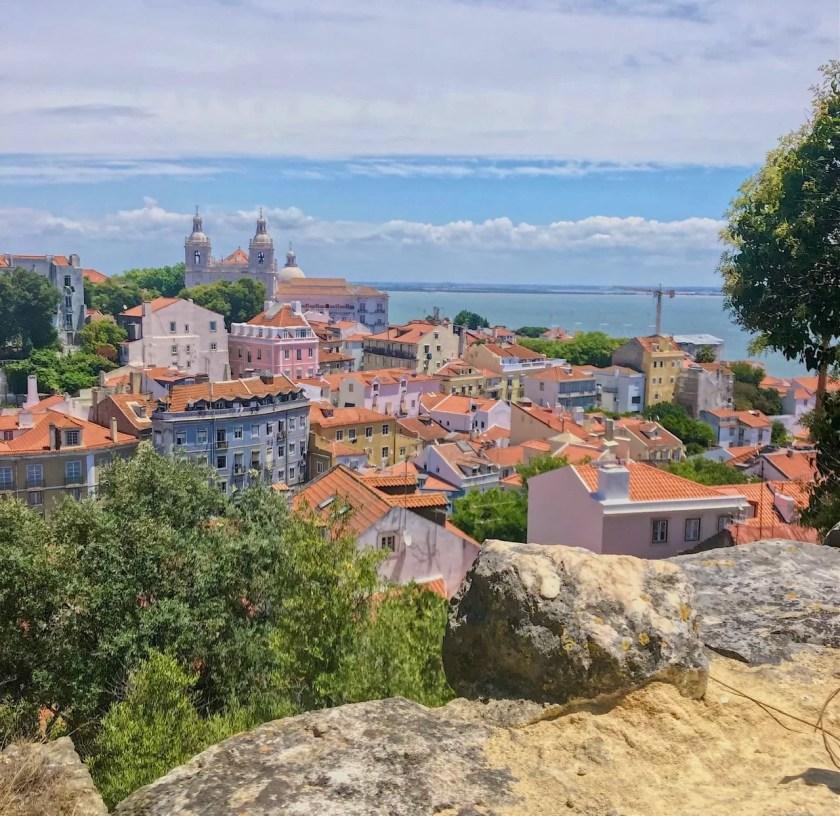 Vista Castelo Lisboa