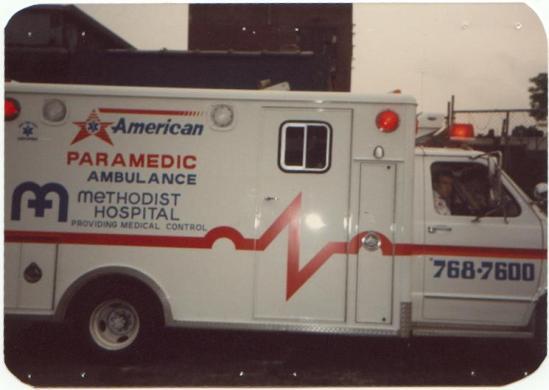 american ambulance el greco