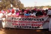 Labé : Les Femmes responsables et militantes du FNDC dans la rue (images)
