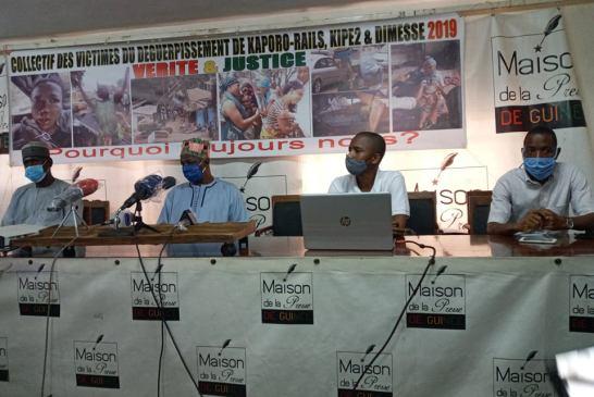 Conakry: Les victimes de Kaporo-Rails mettent Amadou Damaro en garde