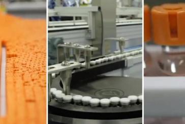 La vidéo de l'espoir dans la lutte contre le coronavirus: les vaccins Covid de Pfizer sur la chaîne de production en Belgique (vidéo)