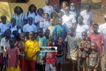 Îles de Fotoba et Rogbane : 344 élèves bénéficient de kits scolaires de la part de l'Association GANNDAL en partenariat avec l'AJ de la 45ème promotion de Sonfonia