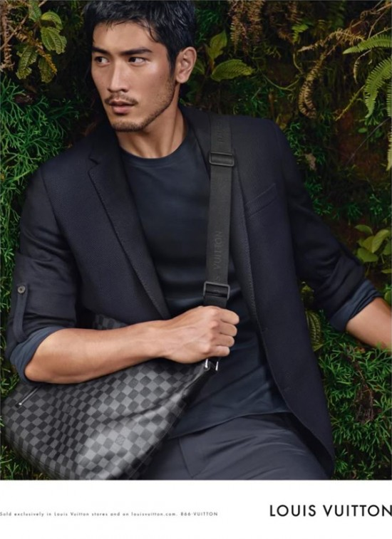 Godfrey Gao in a Louis Vuitton advertisement.