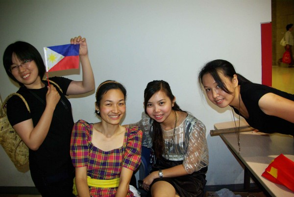 GBF Filipino Day at Fudan University