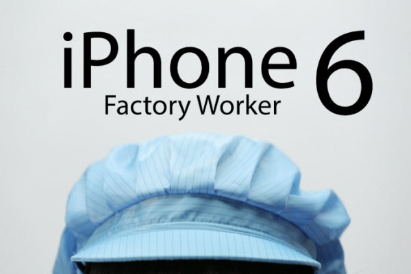 iPhone Factory Worker 6