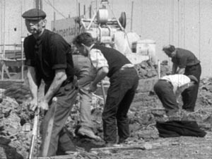 Irish labourers