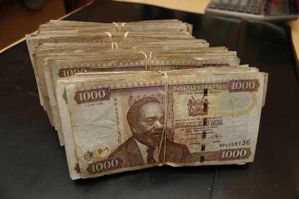Notes currently in circulation have the images of the country's first President Jomo Kenyatta and his successor Daniel arap Moi.