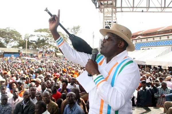 Machakos Senator Johnson Muthama at a past