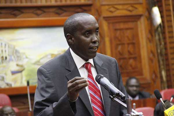 Former Interior Cabinet Secretary Joseph ole