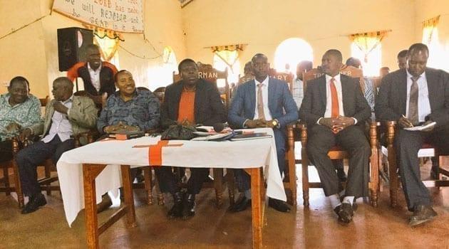 The MPs gave the endorsement during a church service in Kiambu/COURTESY