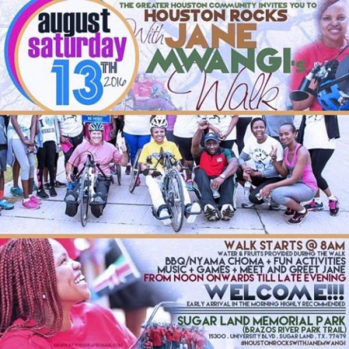 Houston Rocks With Jane Walk