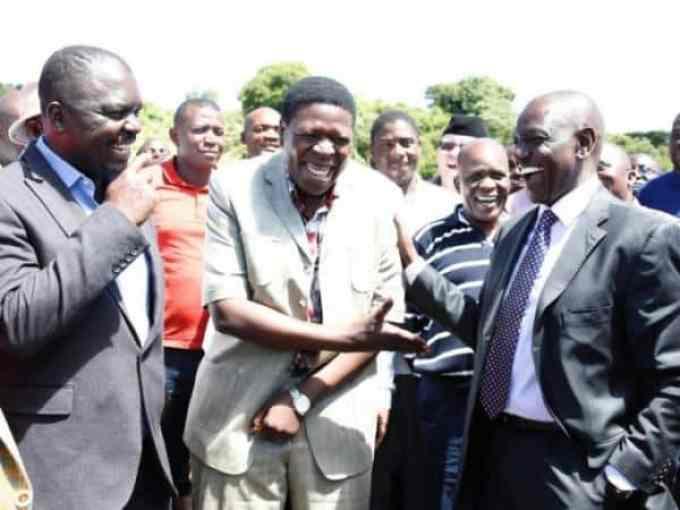 Ruto and Wamalwa
