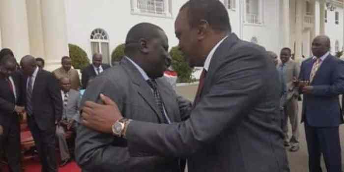 Uhuru with Ukwani