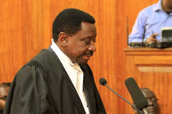 Lawyer James Orengo at Supreme Court during the