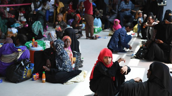 Image result for Over 70 Somalis deported from U.S.A. arrive home in Mogadishu