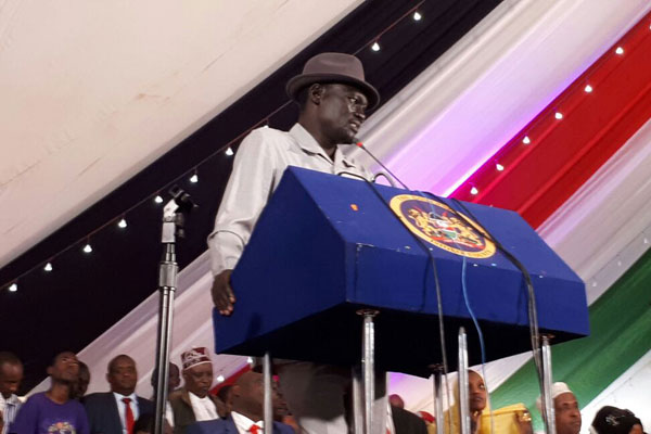 Council of Governor Chairman Josephat Nanok