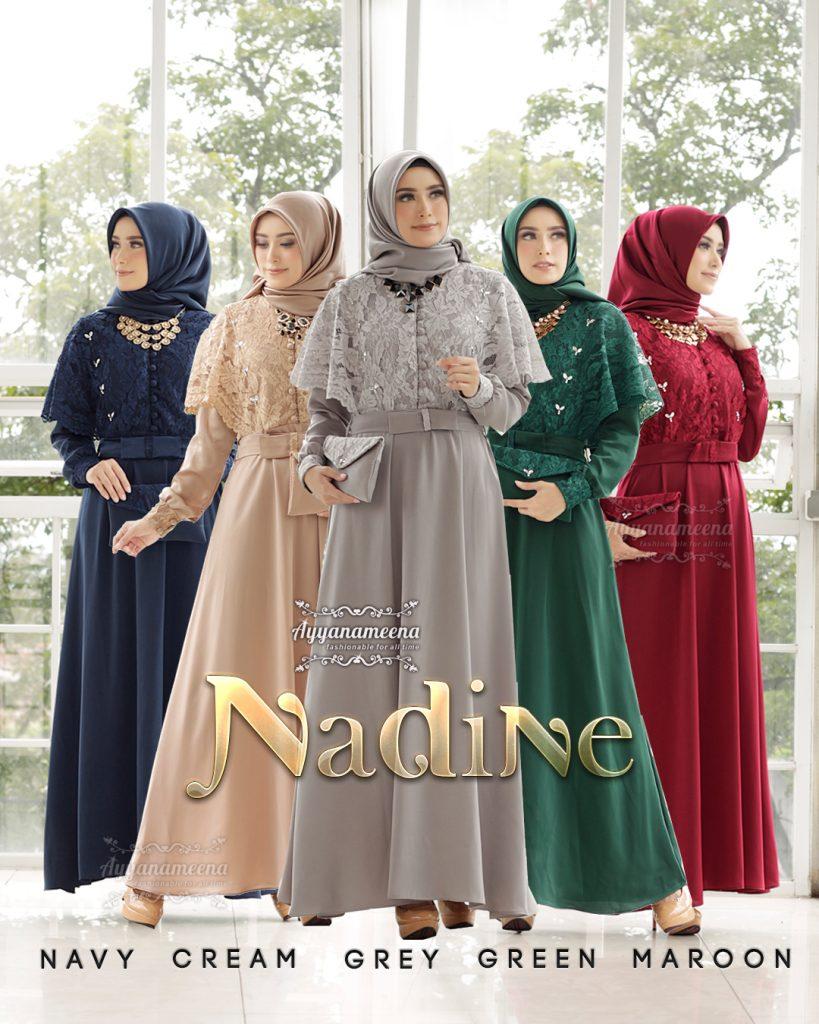 Model Baju Kondangan Terbaru 2020 : model, kondangan, terbaru, Model, Gamis, Pesta, Terbaru, Dress, Muslimah