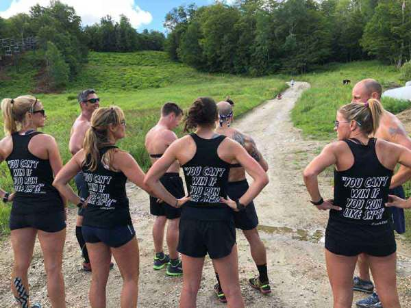 dhp Training during the Vermont Clinic