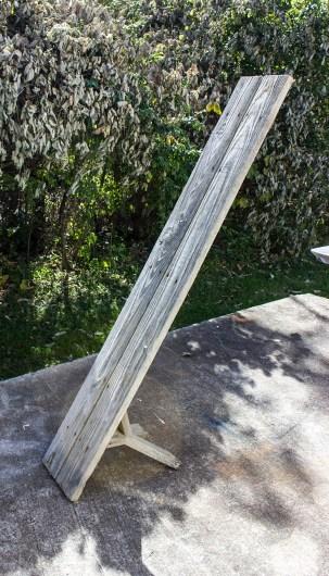 angled bench