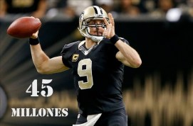 5. Drew Brees (New Orleans Saints)