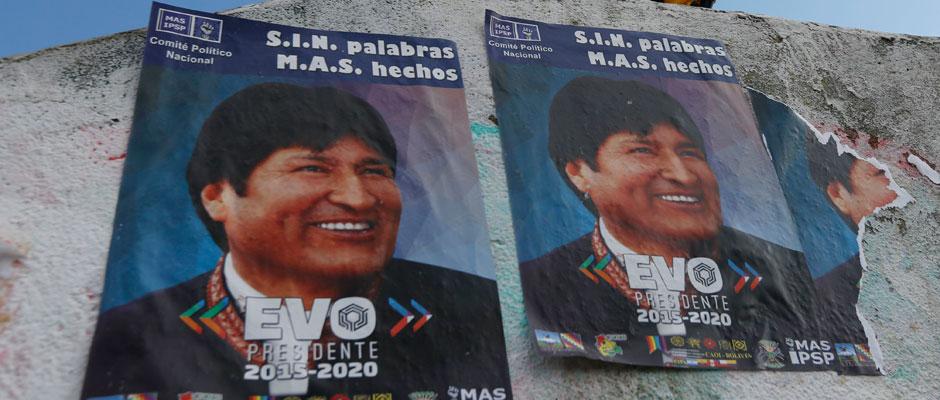 Evo Morales se atornilla al poder